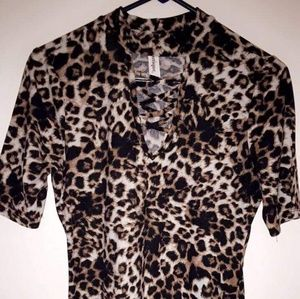 B & B Boutique  leopard dress